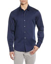 Zachary Prell - Mulberry Regular Fit Shirt - Lyst