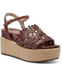 Jessica Simpson Camilia Platform Sandal - Brown