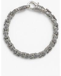 Konstantino 'classics' Carved Bracelet - Metallic