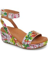 Gentle Souls - By Kenneth Cole Morrie Wedge Sandal - Lyst