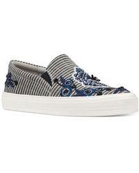 Nine West - Onyeka Embroidered Slip-on Sneaker - Lyst