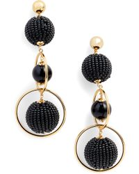 Kate Spade - Beads And Baubles Drop Earrings - Lyst