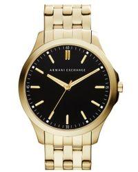 Armani Exchange - Round Bracelet Watch - Lyst