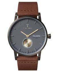 Triwa - Walter Falken Organic Leather Strap Watch - Lyst