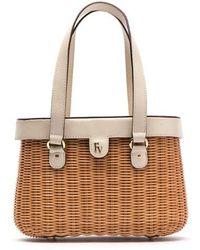 Frances Valentine | Wicker Basket Shoulder Bag | Lyst