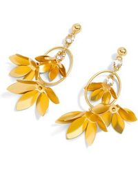J.Crew | J.crew Blossom Drop Earrings | Lyst