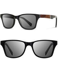 Shwood 'canby' 53mm Sunglasses - - Black