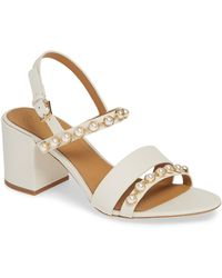bca6909d7fa2 Lyst - Tory Burch Emmy Wedge Sandals in Brown