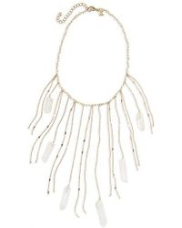 Panacea - Fringe Statement Necklace - Lyst