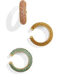 BaubleBar - Elsa Set Of 3 Ear Cuffs - Lyst