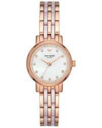 Kate Spade - Monterey Crystal Dial Bracelet Watch - Lyst