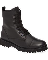 Gabor Combat Boot - Black