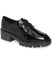 Donald J Pliner Emill Platform Loafer - Black