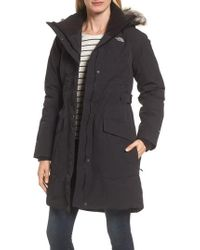 The North Face - Outer Boroughs Waterproof 550-fill Power Down Parka With Faux Fur Trim - Lyst