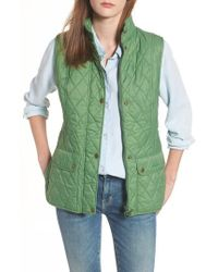 Barbour - Otterburn Water Resistant Quilted Gilet - Lyst