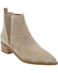 Marc Fisher 'yale' Chelsea Boot - Brown