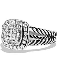 David Yurman Albion Ring With Diamonds - Multicolour