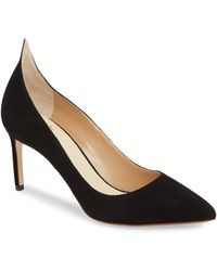 cce9fcc648fa Francesco Russo - Flame Pointy Toe Pump - Lyst