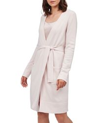 The White Company - Short Cashmere Robe - Lyst