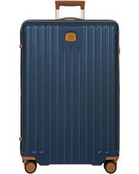 Bric's Capri 2.0 30-inch Expandable Rolling Suitcase - Blue