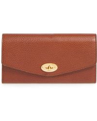 Mulberry - 'postman's Lock' Leather Wallet - Lyst