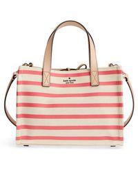Kate Spade - Washington Square - Sam Canvas Handbag - Lyst