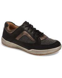 Comfortiva - Lemont Snake Embossed Sneaker - Lyst