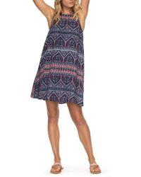 Roxy | Sweet Seas Trapeze Dress | Lyst
