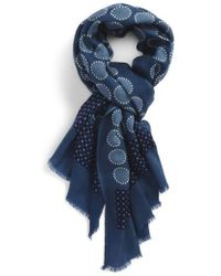 Calibrate - Dot Wool Scarf - Lyst
