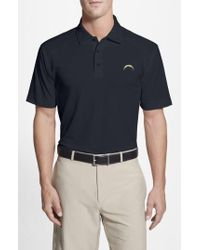 Cutter & Buck - 'San Diego Chargers - Genre' Drytec Moisture Wicking Polo - Lyst