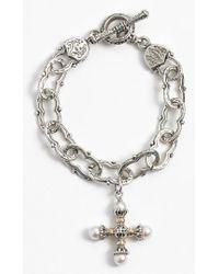 Konstantino - 'classics' Pearl Maltese Cross Pendant - Lyst