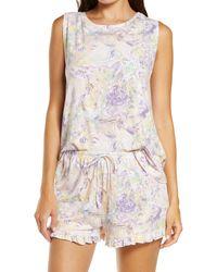 BP. Nori Shorts Pajamas - White
