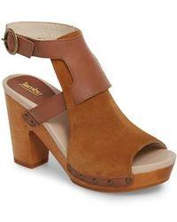 Eastbay Jambu Rio Sculpted Heel Sandal(Women's) -Denim Denim Canvas Sale Reliable View For Sale HqAzT52Pu