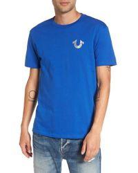 True Religion   True Religion Silver Buddha T-shirt   Lyst