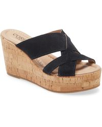 Pelle Moda Womens Wade-nu Wedge Sandal