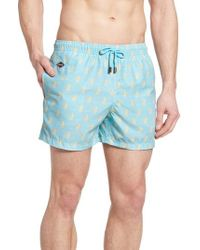 Nikben - Beehave Print Swim Trunks - Lyst