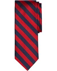 Brooks Brothers - Thick Stripe Silk Tie - Lyst