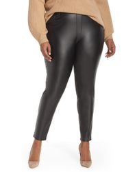 Seven7 - Sweetheart Coated Pull-on Pants - Lyst