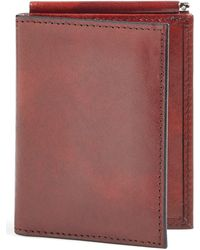 Bosca - 'old Leather' Money Clip Wallet - Lyst