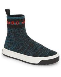 Marc Jacobs - Dart Sock Knit Sneaker - Lyst