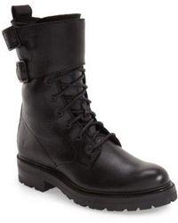 Frye - 'Julie' Shield Combat Boot - Lyst