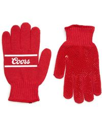 Brixton - Coors Knit Gloves - Lyst