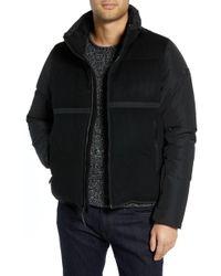Tumi Wool Puffer Jacket - Black