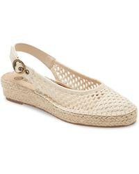 Bella Vita Olive Ii Slingback Platform Sandal - Natural