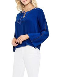 Vince Camuto - Bell Sleeve Blouse - Lyst