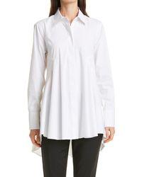 Donna Karan High/low Tunic - White