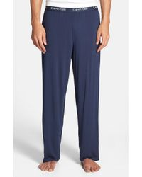 Calvin Klein - 'u1143' Micromodal Pajama Pants - Lyst