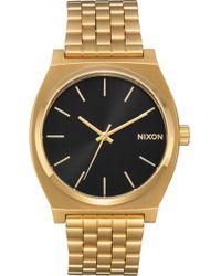 Nixon - 'time Teller' Bracelet Watch - Lyst