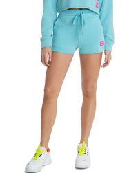 Juicy Couture Boyfriend Shorts - Blue