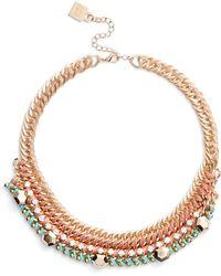Adia Kibur Braided Chain Necklace